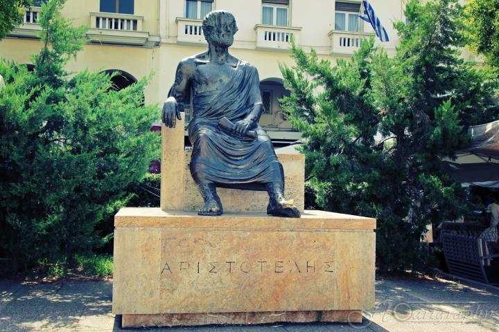 Thessaloniki Statue of Aristoteles