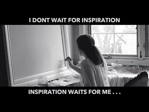 MajaColorArt: I don't wait for inspiration...